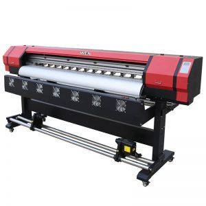 6 jalga Printing Video WER-ES1901 DX5 / DX7 pea eco solvent printer Hiinas tarnija