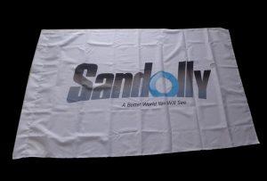 Märgi kangasümbolit, mille on prindi 1,6 m (5 jalga) ökoloogilise lahusti printer WER-ES160