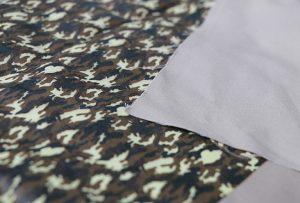 Tekstiiltrüki proov 1 digitaalse tekstiiltrükimasina WER-EP7880T abil